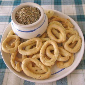 Taralli Santamaria con semi di finocchietto - al finocchio