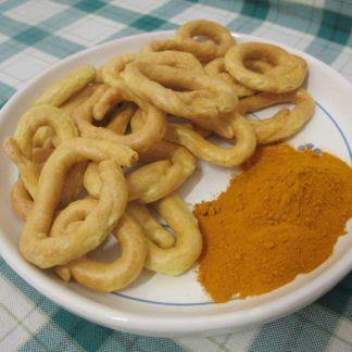 Taralli Santamaria con curcuma